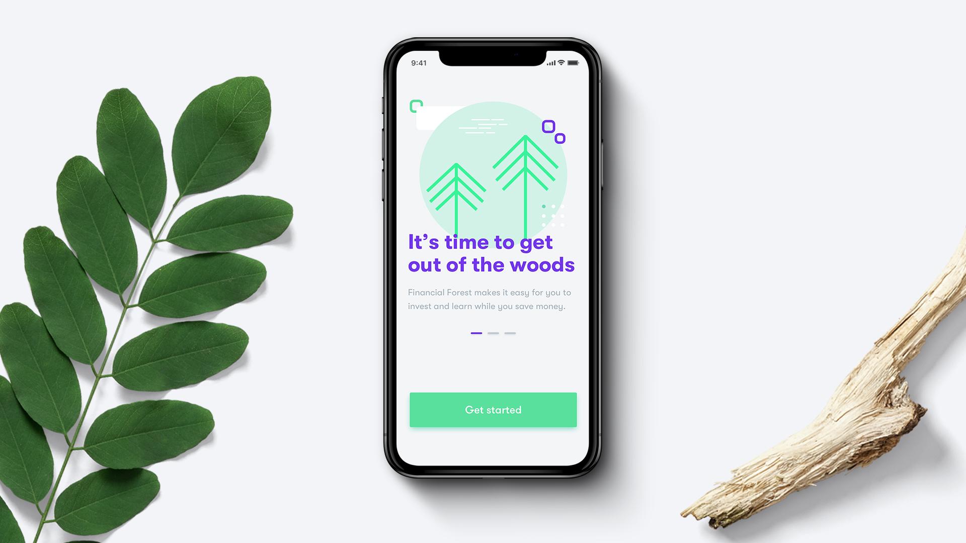 Financial Forest Titelbild