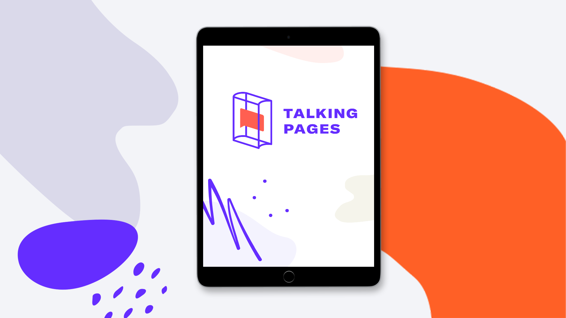 Talking Pages Tablet